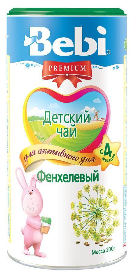 """""""Беби"""" Чай детский Bebi Premium """"Фенхелевый"""" 200,0 (инстантный травяной чай)"""