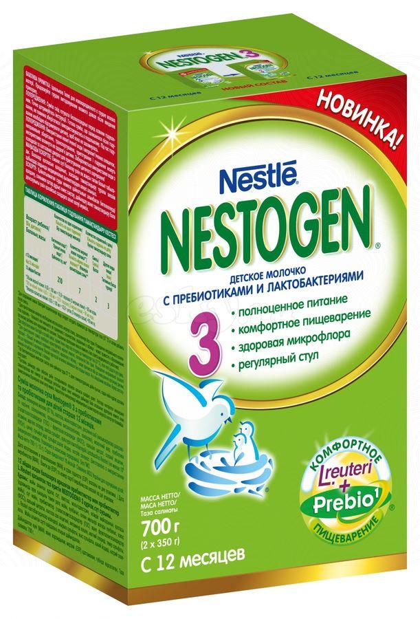 """Молочная смесь Нестожен """"Nestogen-3 (с пребиотиками и лактобактериями)"""" 700,0 (напиток молочный """"Детское молочко"""")"""