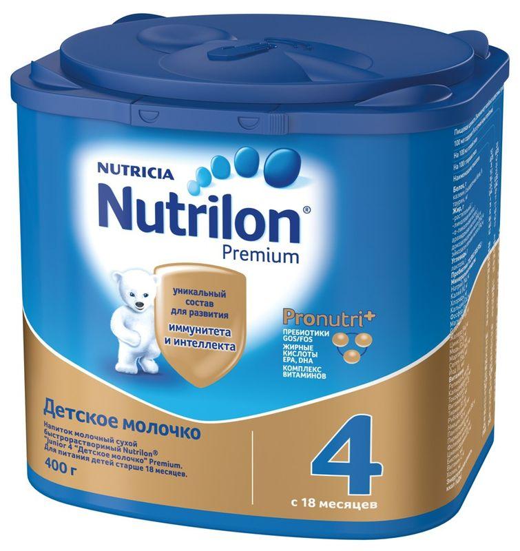 """Молочная смесь Нутрилон """"Nutrilon-4 Premium"""" 400,0 (напиток молочный """"Junior 4 Детское молочко"""")"""