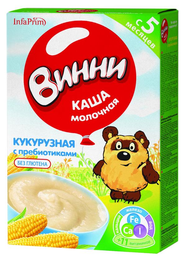 """Винни"" каша молочная кукурузная с пребиотиками 220,0"
