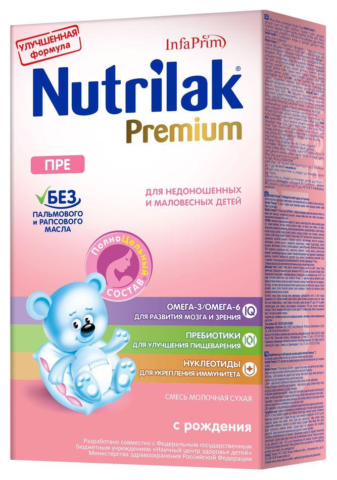 """Молочная смесь Нутрилак """"Nutrilak Premium ПРЕ"""" 350,0"""