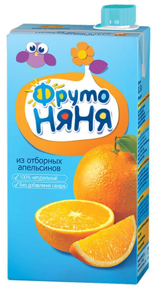 """Сок апельсиновый неосветленный (без сахара) 500 мл """"ФрутоНяня"""""""