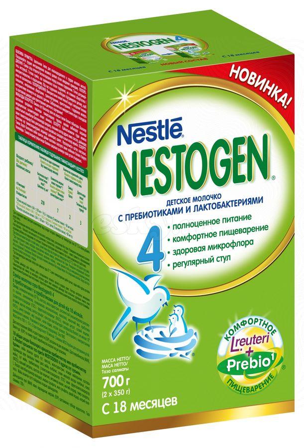 """Молочная смесь Нестожен """"Nestogen-4 (с пребиотиками и лактобактериями)"""" 700,0 (напиток молочный """"Детское молочко"""")"""