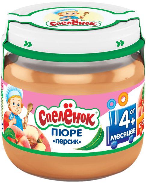 """Пюре """"Персик с сахаром"""" 80,0 """"Спеленок"""" (стеклобанка)"""