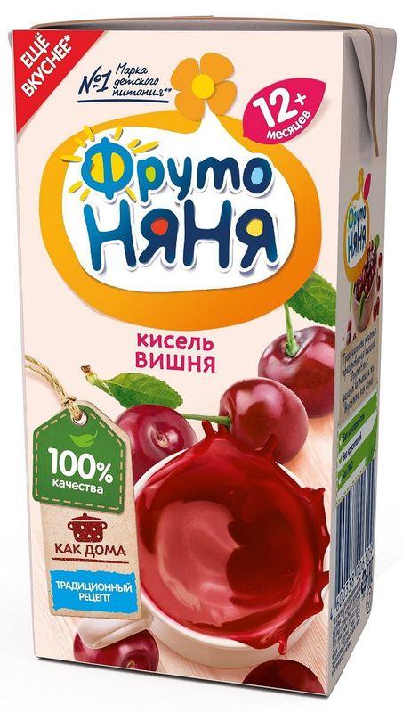 """Детский """"Кисель из вишни"""" 200 мл """"ФрутоНяня"""""""