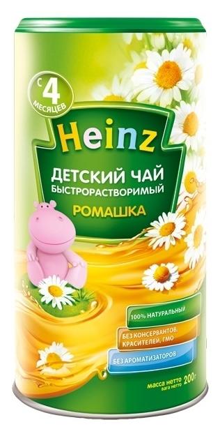 """""""Хайнц"""" Чай детский Heinz """"РОМАШКА"""" 200,0 (инстантный травяной чай)"""