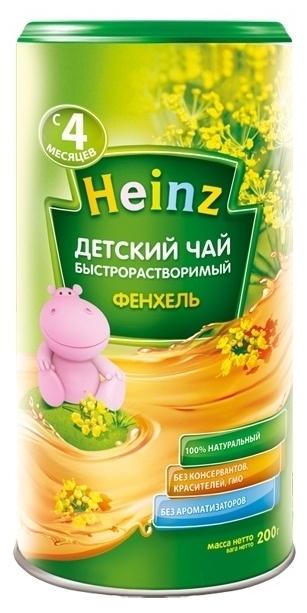"""""""Хайнц"""" Чай детский Heinz """"ФЕНХЕЛЬ"""" 200,0 (инстантный травяной чай)"""