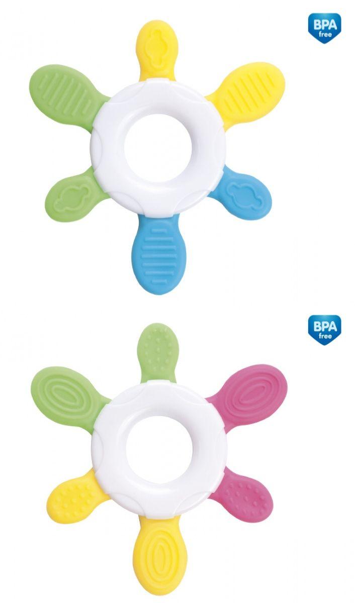 """Прорезыватель для зубов (дизайн """"Солнышко""""), 74/008, """"Canpol babies"""""""