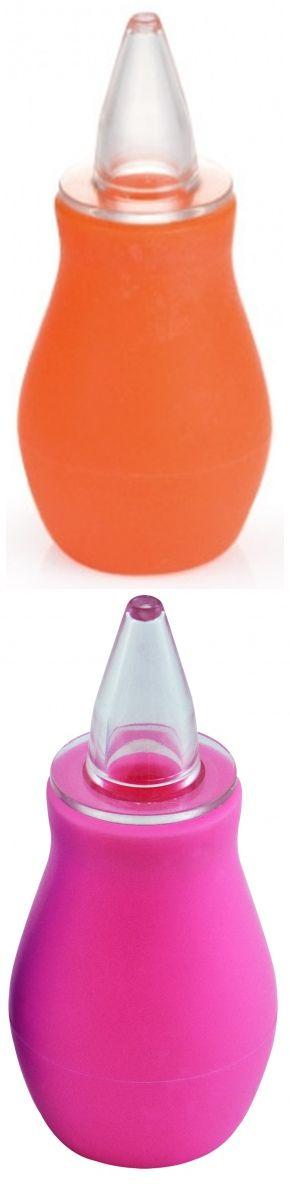 """Аспиратор для носа резиновый с твердой насадкой (в комплекте: съемная силиконовая насадка средней жесткости, груша-спринцовка), 2/118, """"Canpol babies"""""""
