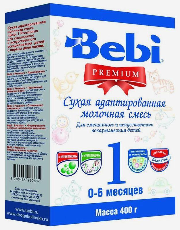"Молочная смесь Беби ""Bebi Premium 1"" 400,0 (пачка)"