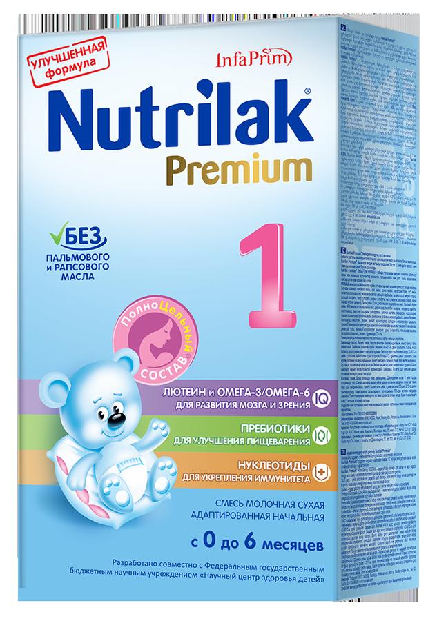 """Молочная смесь Нутрилак """"Nutrilak Premium 1 (0-6, с пребиотиками и нуклеотидами)"""" 350,0"""