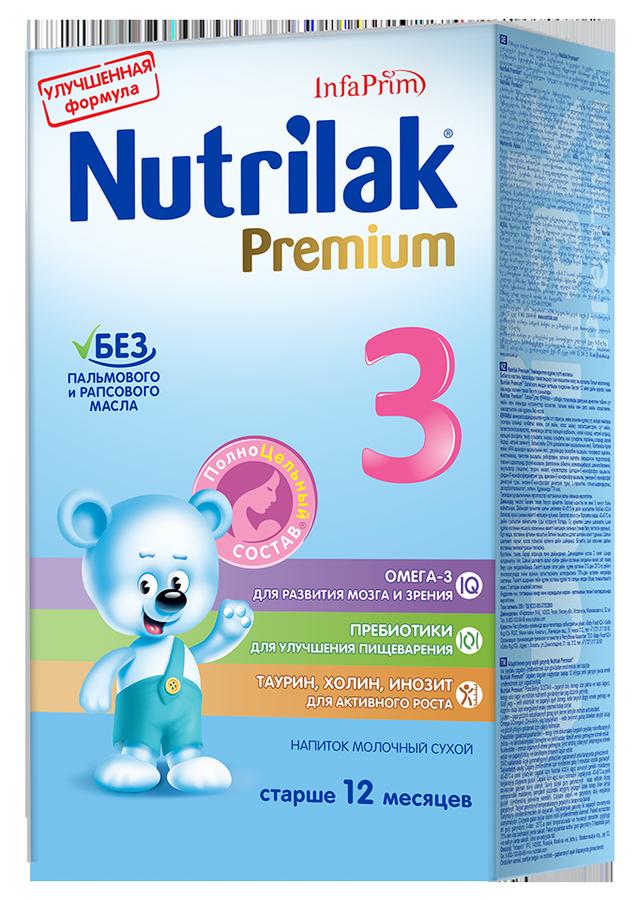 """Молочная смесь Нутрилак """"Nutrilak Premium 3 (12+, с пребиотиками)"""" 350,0"""