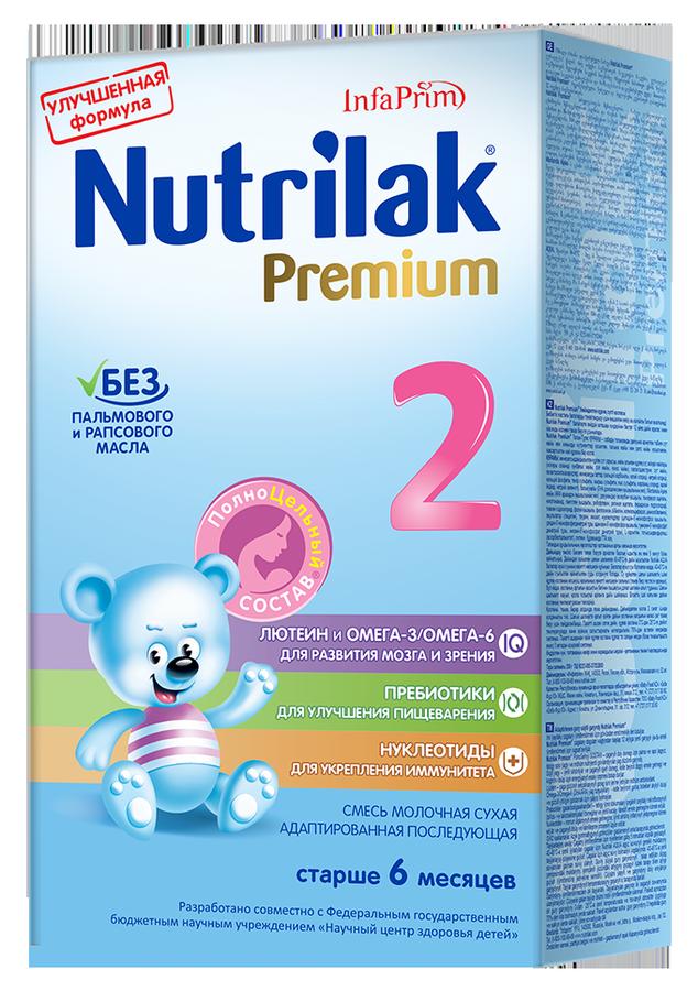 """Молочная смесь Нутрилак """"Nutrilak Premium 2 (6-12, с пребиотиками и нуклеотидами)"""" 350,0"""
