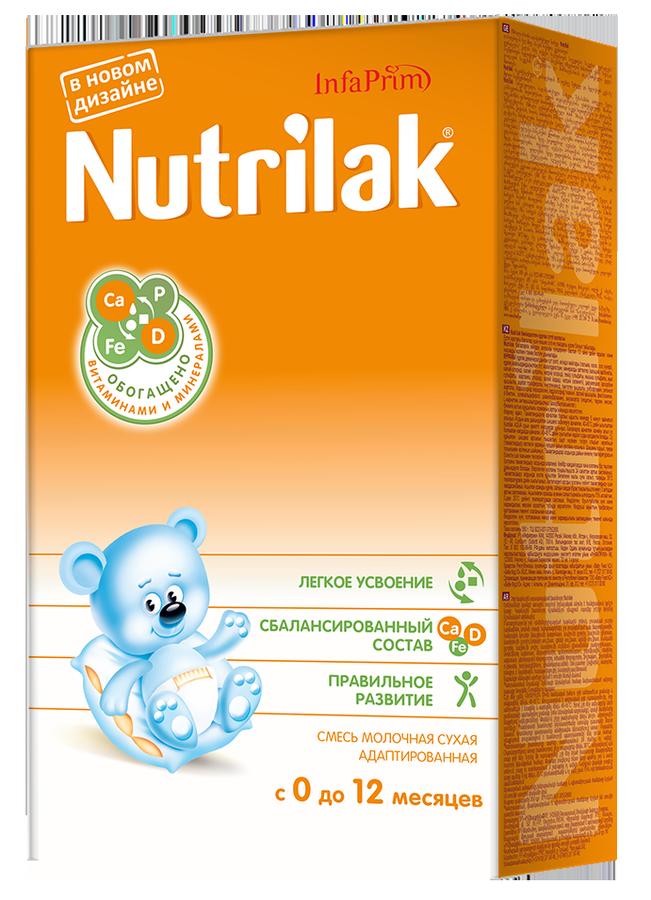 """Молочная смесь Нутрилак """"Nutrilak 0-12"""" 350,0"""