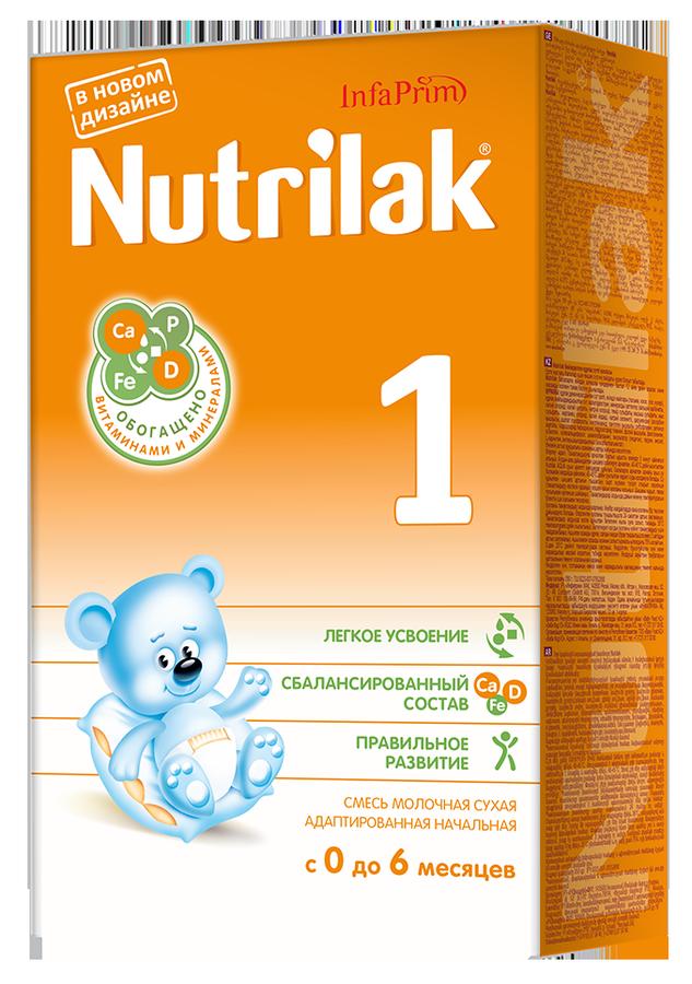 """Молочная смесь Нутрилак """"Nutrilak 1 (0-6)"""" 350,0"""