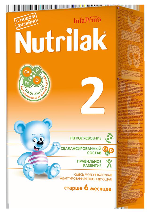 """Молочная смесь Нутрилак """"Nutrilak 2 (6-12)"""" 350,0"""