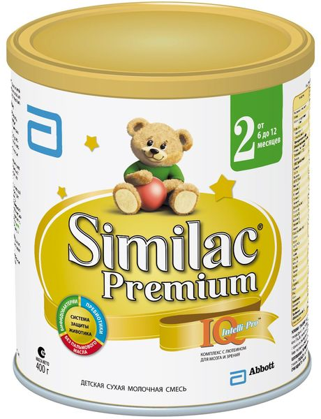 """Молочная смесь Симилак """"Similac Premium 2"""" 400,0"""