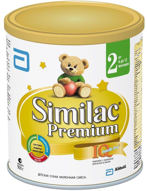 """Молочная смесь Симилак """"Similac Premium 2"""" 900,0"""