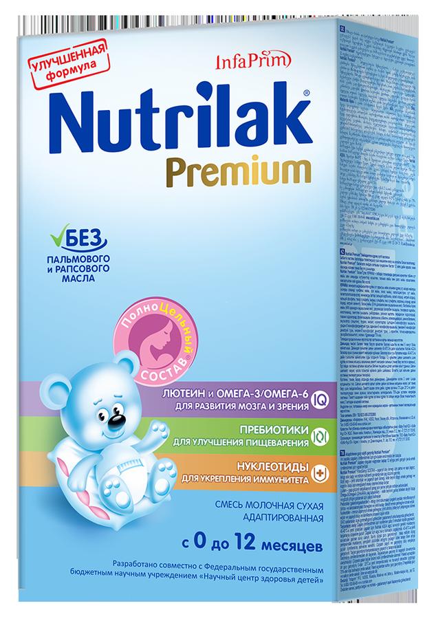 """Молочная смесь Нутрилак """"Nutrilak Premium (0-12, с пребиотиками и нуклеотидами)"""" 350,0"""