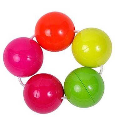 """Погремушка """"Цветные шарики"""", 30219, """"ПОМА"""""""
