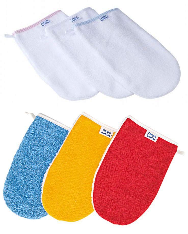 """Рукавичка для мытья ребенка (из махровой ткани), 26/110, """"Canpol babies"""""""