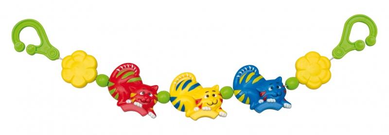 """Погремушка для коляски (с несколькими игровыми элементами, дизайн """"Кошки""""), 2/723, """"Canpol babies"""""""