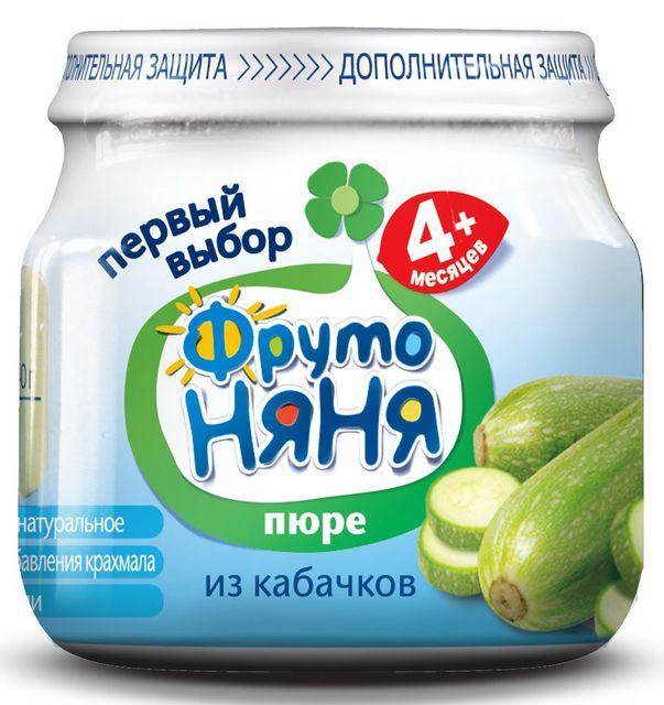 """Пюре """"Кабачок (без соли)"""" 80,0 """"ФрутоНяня"""""""