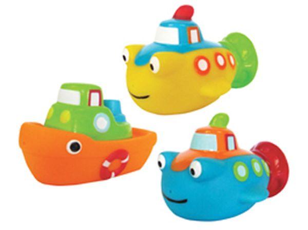 """Набор игрушек для ванны """"Морской бой"""" (3 штуки), 13319, """"ПОМА"""""""
