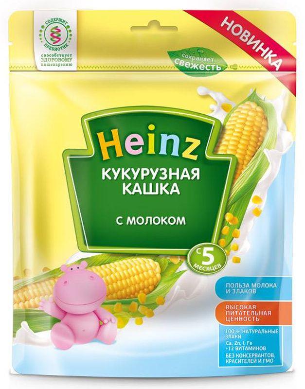 """Хайнц"" каша ""Heinz"" молочная ""Кукурузная кашка с молоком (с пребиотиками)"" 250,0"