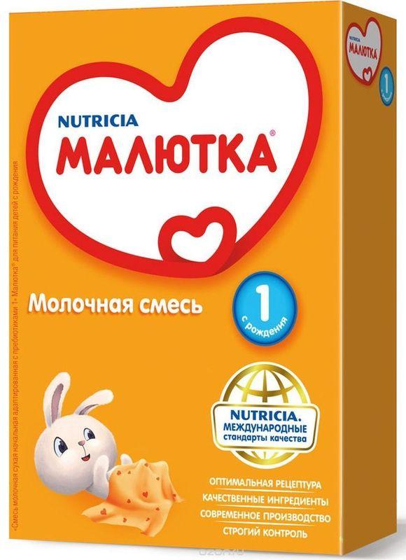 """Молочная смесь  """"Малютка-1 (с рождения)"""" 300,0 (с пищевыми волокнами и нуклеотидами, без сахара)"""