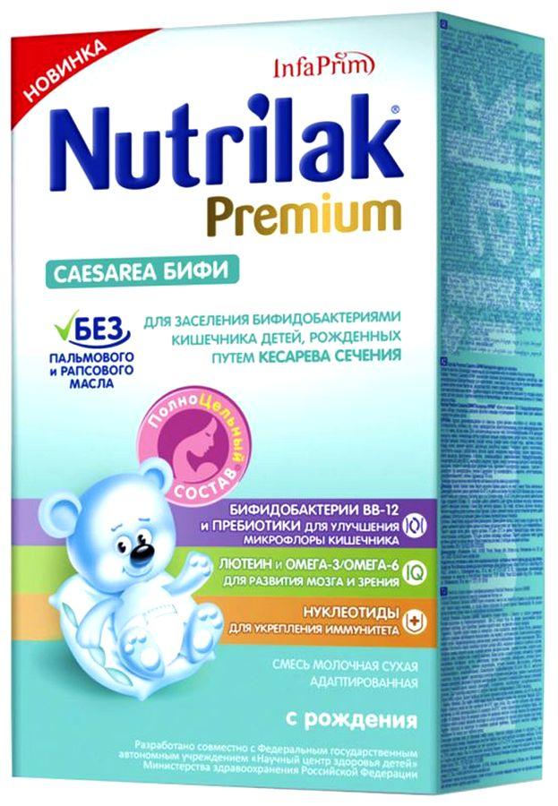 """Молочная смесь Нутрилак """"Nutrilak Premium Caesarea БИФИ (с пребиотиками и нуклеотидами)"""" 350,0"""