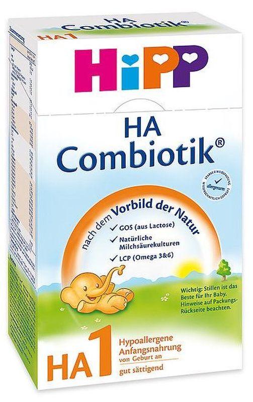 """Молочная смесь ХИПП """"HiPP HA 1 Combiotiс"""" (ХиПП гипоаллергенный 1 Комбиотик) 500,0"""