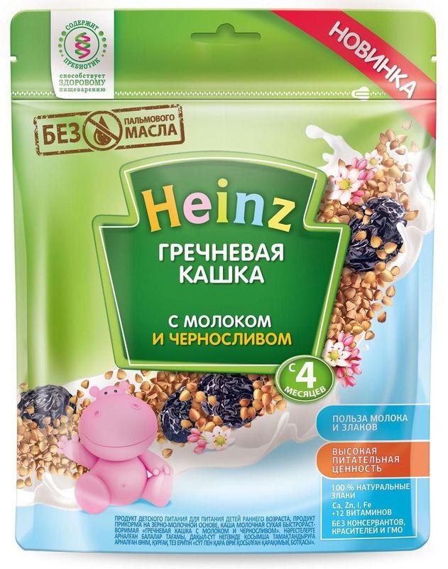 """""""Хайнц"""" каша """"Heinz"""" молочная """"Гречневая кашка с молоком и черносливом (с пребиотиками)"""" 250,0"""