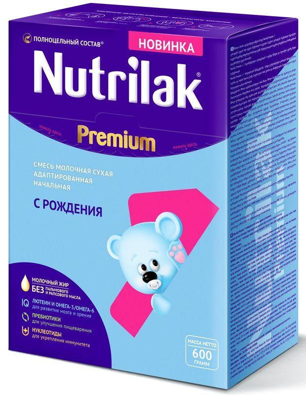 """Молочная смесь Нутрилак """"Nutrilak Premium 1 (0-6, с пребиотиками и нуклеотидами)"""" 600,0"""
