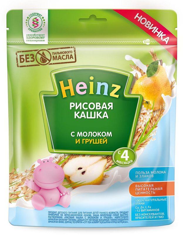 """""""Хайнц"""" каша """"Heinz"""" молочная """"Рисовая кашка с молоком и грушей (с пребиотиками)"""" 250,0"""