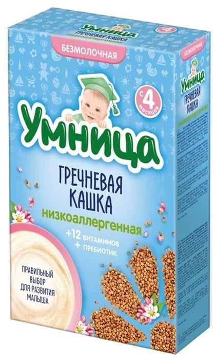 """""""Умница"""" каша безмолочная низкоаллергенная гречневая (без сахара, с инулином) 200,0"""