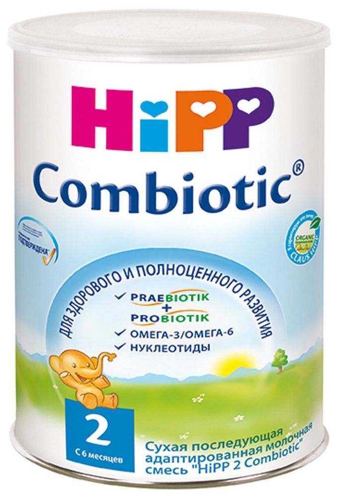 "Молочная смесь ХИПП ""HiPP 2 Combiotiс"" (ХиПП 2 Комбиотик) 800,0"