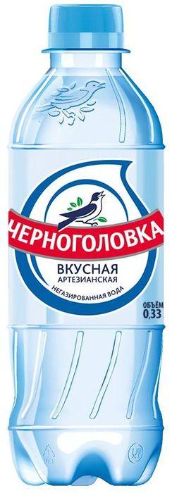 """Вода детская питьевая """"Черноголовка"""" 0,33 л"""