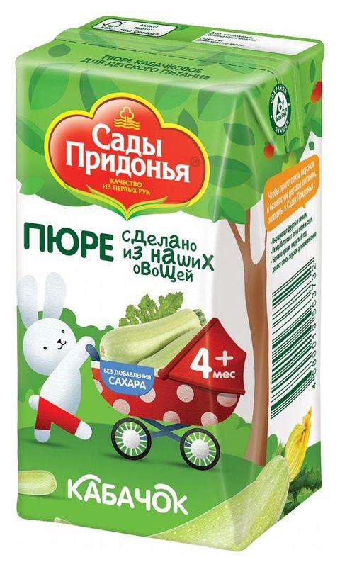 "Пюре ""Кабачок без сахара"" 125,0 ""Сады Придонья"""